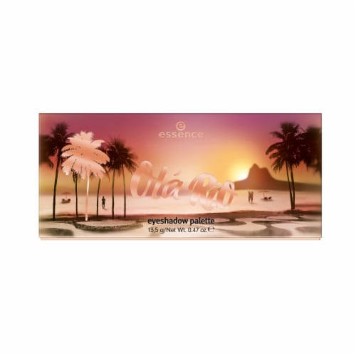 Essence Ola Rio Eyeshadow Palette Perspective: front