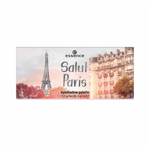 Essence Salut Paris Eyeshadow Palette Perspective: front