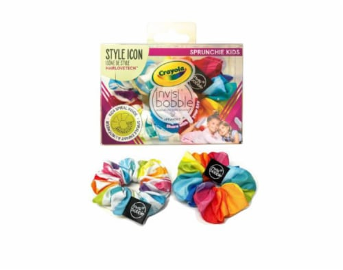 Invisibobble Kids Crayola Sprunchie Perspective: front