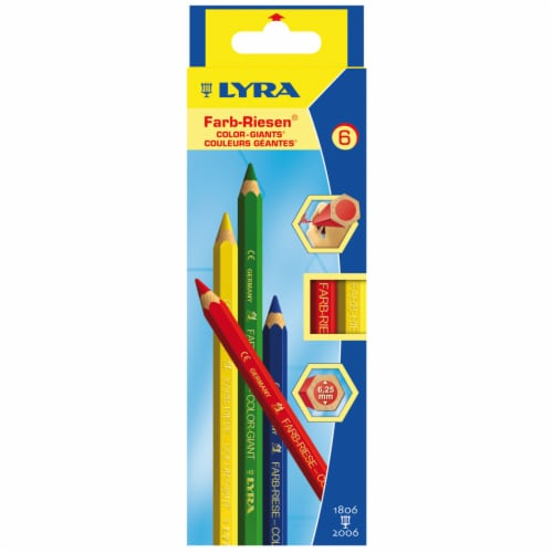 Lyra Color-Giants Colored Pencil Set Perspective: front
