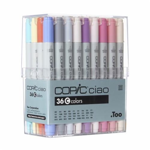 Copic Ciao Marker Set - Set C Perspective: front