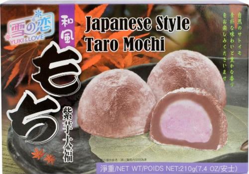 Yuki Love Japanese Taro Mochi Perspective: front