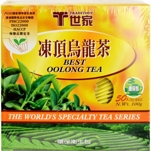 Tradition Best Oolong Tea Bags Perspective: front