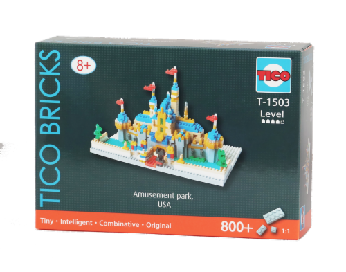 TICO Amusement Park Micro Building Blocks Set Perspective: front