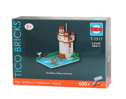 TICO The Rhine Valley Micro Building Blocks Set Perspective: front