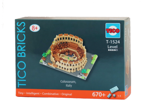 TICO Colosseum Micro Building Blocks Set Perspective: front