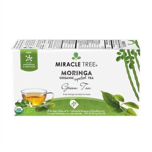 Miracle Tree Organic Moringa Green Tea Perspective: front