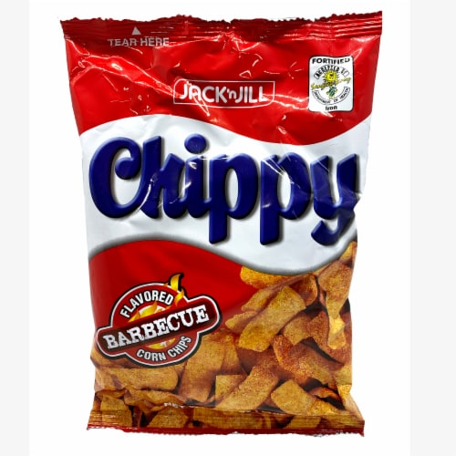 Jack 'n Jill Chippy Barbeque Flavored Corn Chips Perspective: front