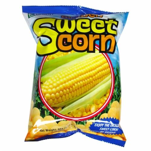 Regent Golden Sweet Corn Puffs Perspective: front