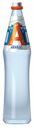 Ararat Sparkling Natural Mineral Water Perspective: front