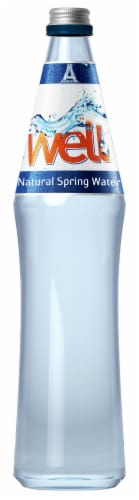 The Well Natural Spring Water Perspective: front