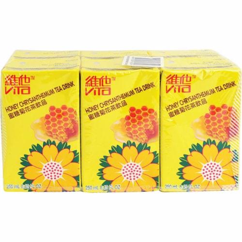 Vita Honey Chrysanthemum Tea Drink Boxes Perspective: front