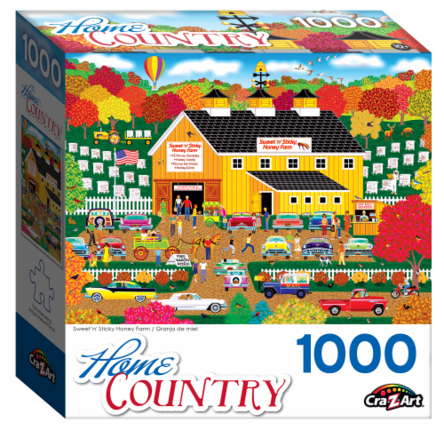 CRA-Z-ART Sweet n Sticky Honey Farm Puzzle Perspective: front