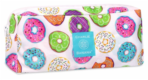 Charlie Banana Multi Purpose Wet Pouch - Delicious Donuts Perspective: front