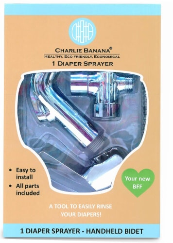 Charlie Banana Diaper Sprayer Perspective: front