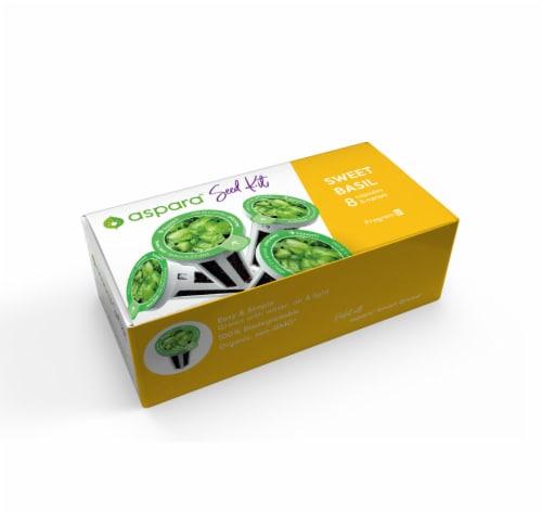 Aspara Sweet Basil Seed Capsule Kit Perspective: front