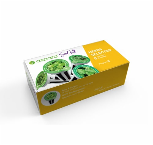 Aspara Herb Seed Capsule Kit Perspective: front