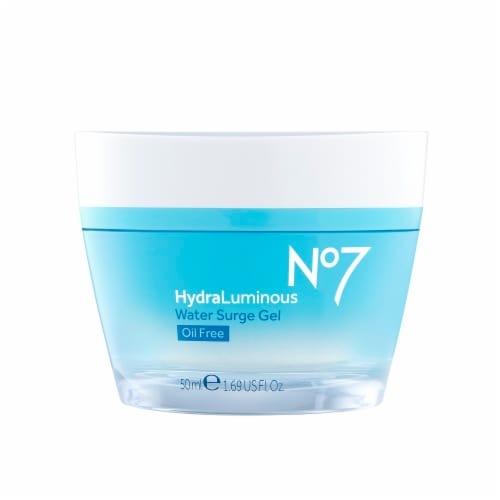 No7 HydraLuminous Water Surge Gel Ultra-Hydratant Perspective: front