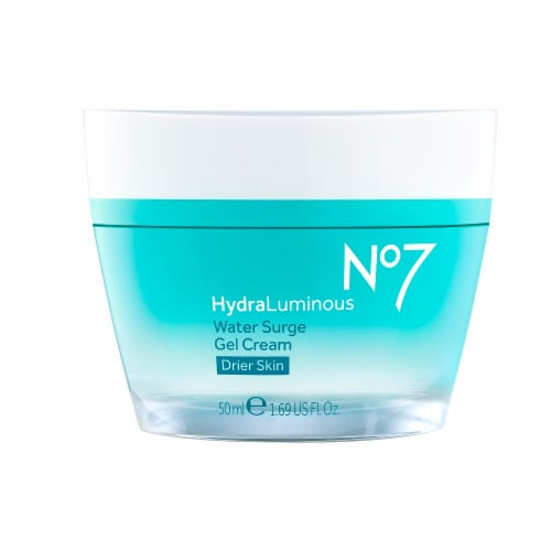 No7 HydraLuminous Water Surge Gel Cream Perspective: front