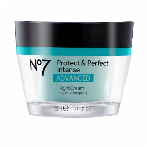 No7 Protect & Perfect Intense Advanced Night Cream Perspective: front
