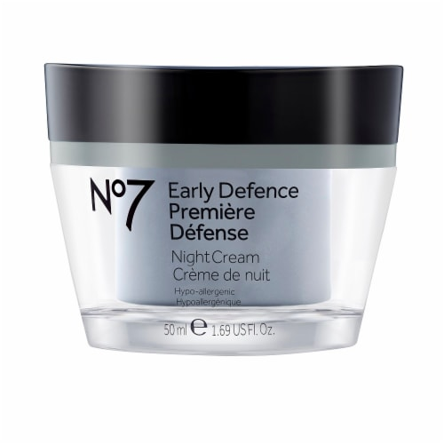 No7 Early Defence Premiere Defense Night Cream Perspective: front