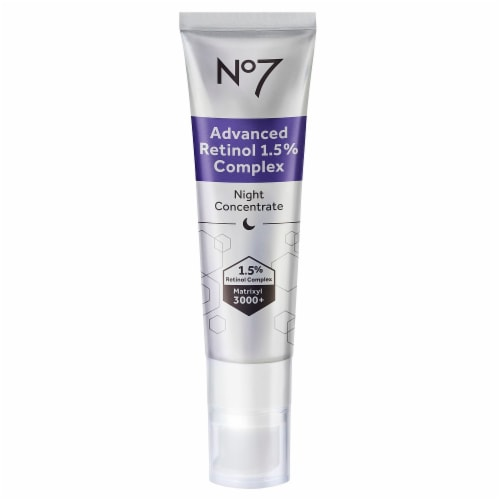 No7 Advanced Retinol Complex Night Concentrate Perspective: front