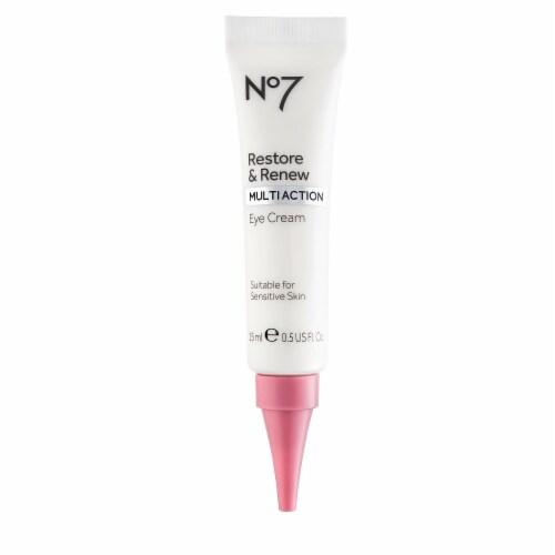 No7 Restore & Renew Multi Action Eye Cream Perspective: front