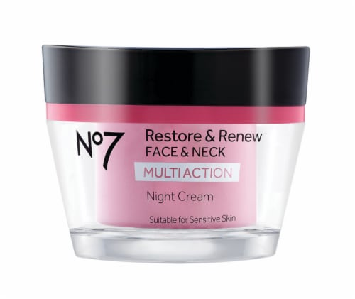 No7 Restore & Renew Night Cream Perspective: front