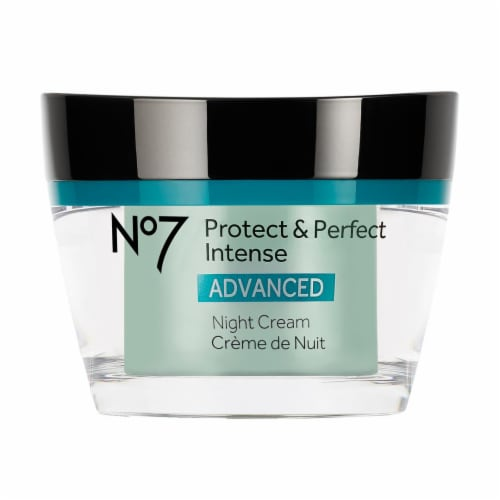 No7 Protect & Perfect Intense Night Cream Perspective: front