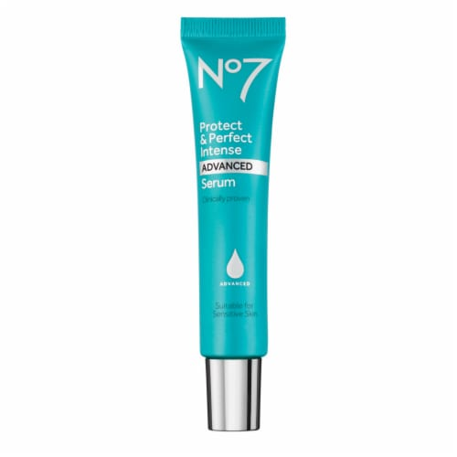 No7 Protect & Prefect Intense Advance Serum Tube Perspective: front
