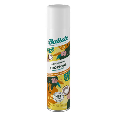 Batiste Coconut & Exotic Tropical Dry Shampoo Perspective: front