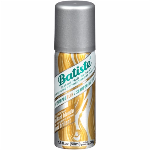 Batiste Brilliant Blonde Dry Shampoo Plus Perspective: front
