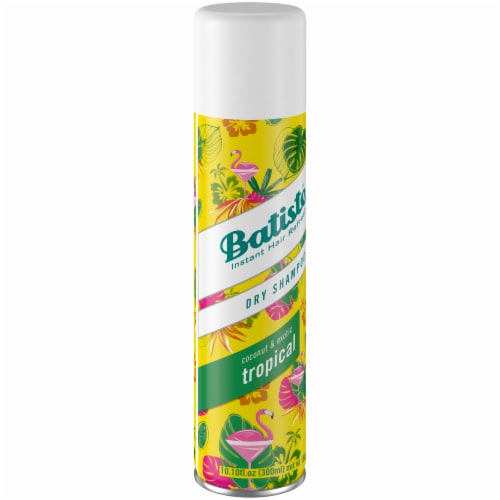 Batiste Instant Hair Refresh Tropical Dry Shampoo Perspective: front