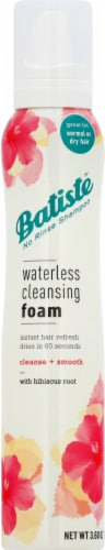 Batiste Cleanse + Smooth with Hibiscus Root Waterless Cleansing Foam Perspective: front