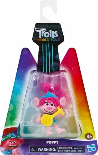 Hasbro DreamWorks Trolls World Tour Poppy Doll Perspective: front
