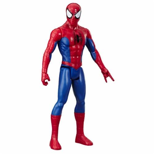 Hasbro Marvel Spider-Man Titan Hero Series Spider-Man Action Figure Perspective: front