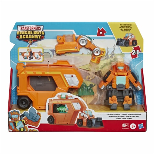 Hasbro Playskool Heroes Transformers Rescue Bots Academy Command Center Playset Perspective: front