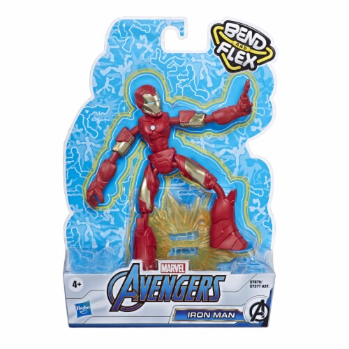 Hasbro Marvel Avengers Bend and Flex Action Figure - Assorted Perspective: front