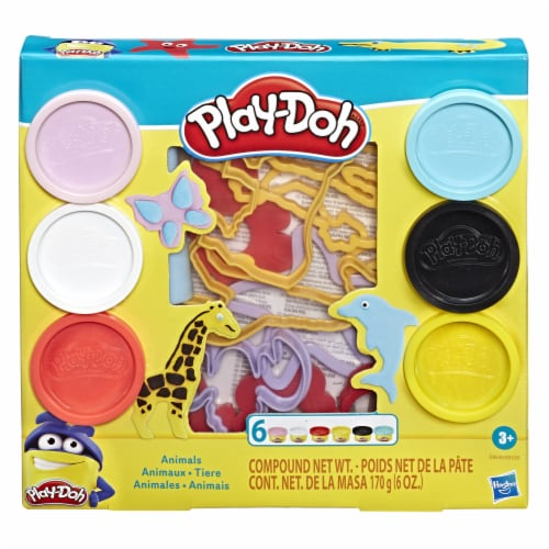 Play-Doh Fundamentals Animals Modeling Compound Playset Perspective: front