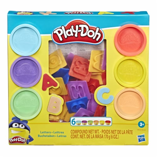 Play-Doh Fundamentals Letters Modeling Compound Playset Perspective: front