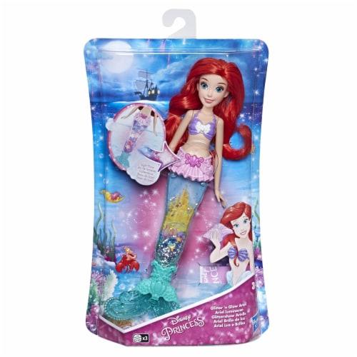 Hasbro Disney Princess Glittle 'n Glow Ariel Doll Perspective: front