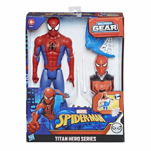 Hasbro Marvel Spider-Man Titan Hero Series Blast Gear Action Figure Perspective: front