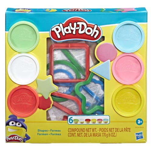 Play-Doh Fundamentals Shapes Modeling Playset Perspective: front