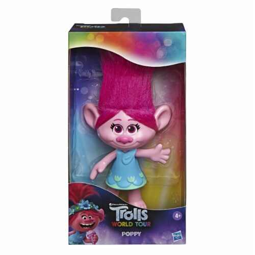 Habro DreamWorks Trolls Pop Music Poppy Doll Perspective: front