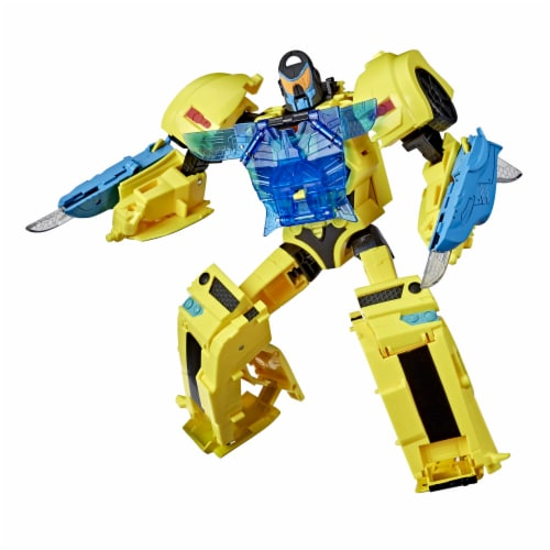 Transformers Bumblbee Cyberverse Adventures Officer Class Bumblebee Perspective: front