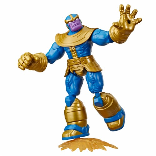 Hasbro Marvel Avengers Bend and Flex Thanos Action Figure Perspective: front