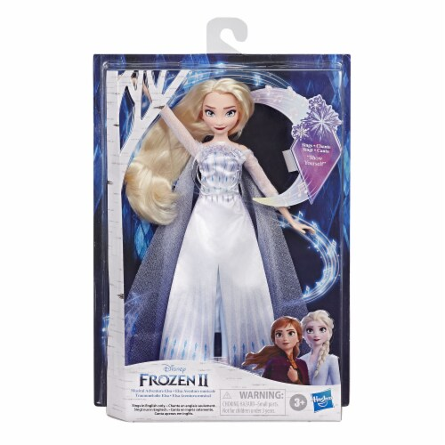 Hasbro Disney Frozen 2 Musical Adventure Elsa Doll Perspective: front
