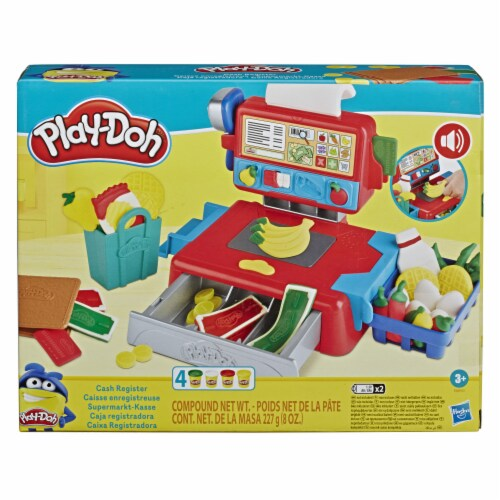 Play-Doh Cash Register Modeling Compound Playset Perspective: front