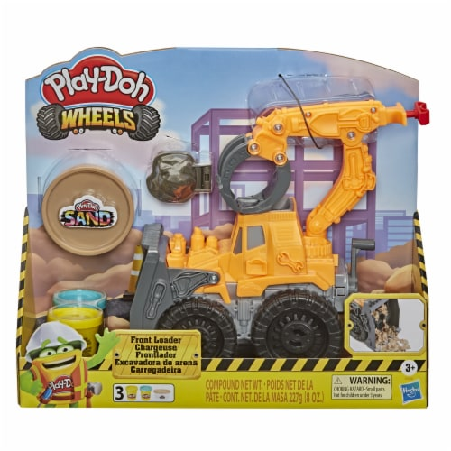 Play-Doh Wheels Front Loader Perspective: front