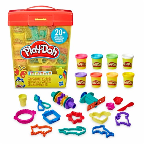 Play-Doh Large Tools & Storage Activity Set Perspective: front